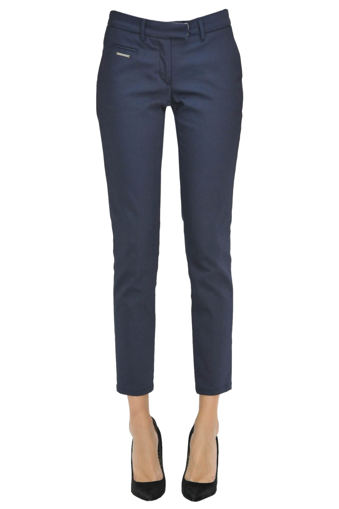 Image of Pantaloni slim in misto cotone
