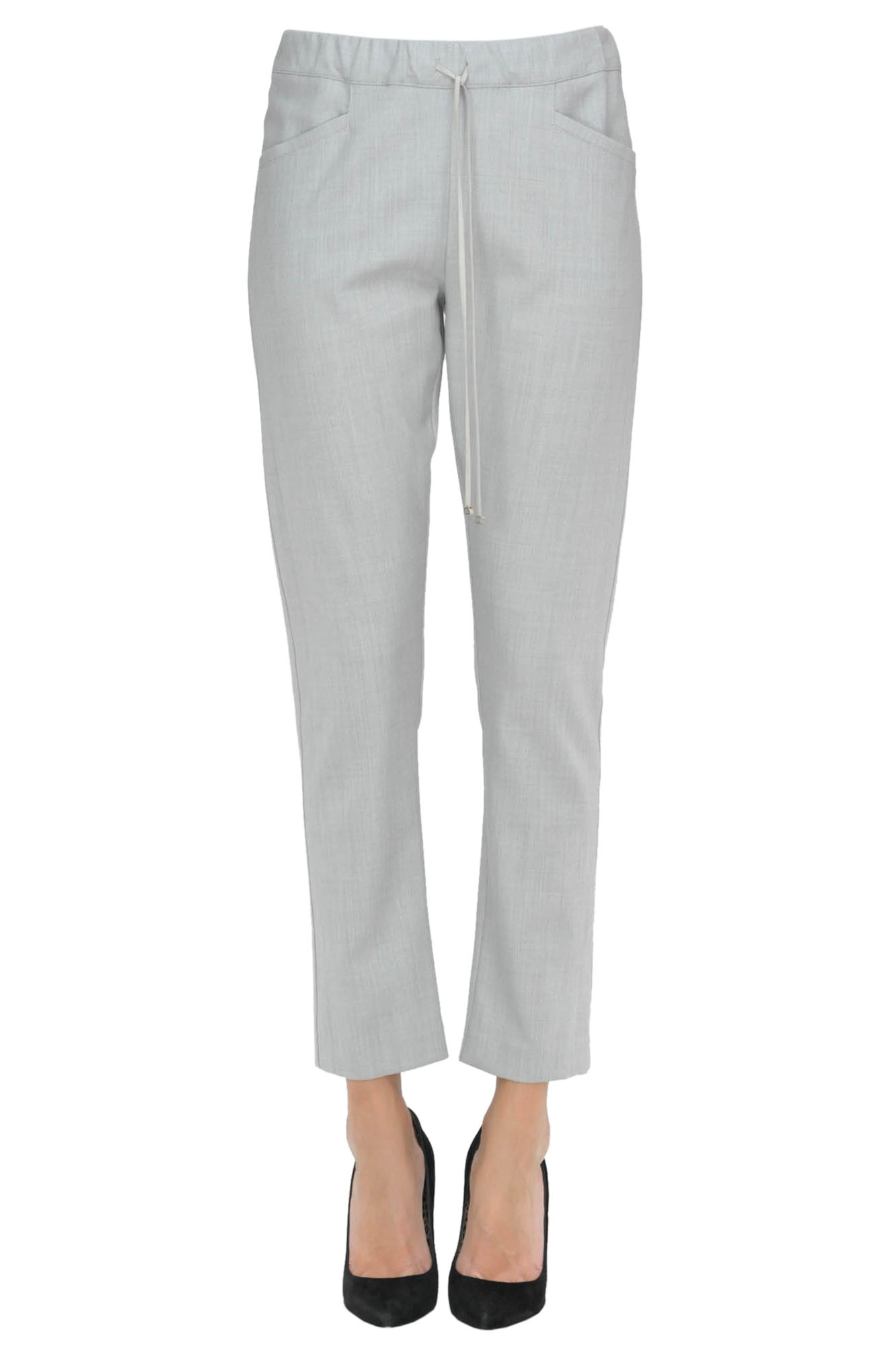 Image of Pantaloni in misto lana