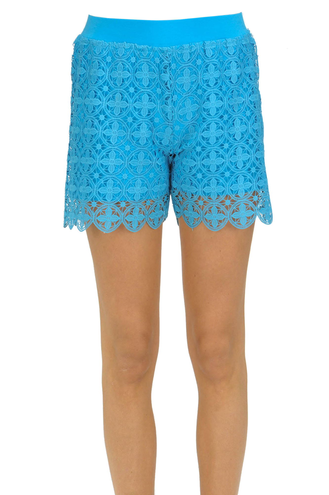 Image of Shorts in pizzo macramè