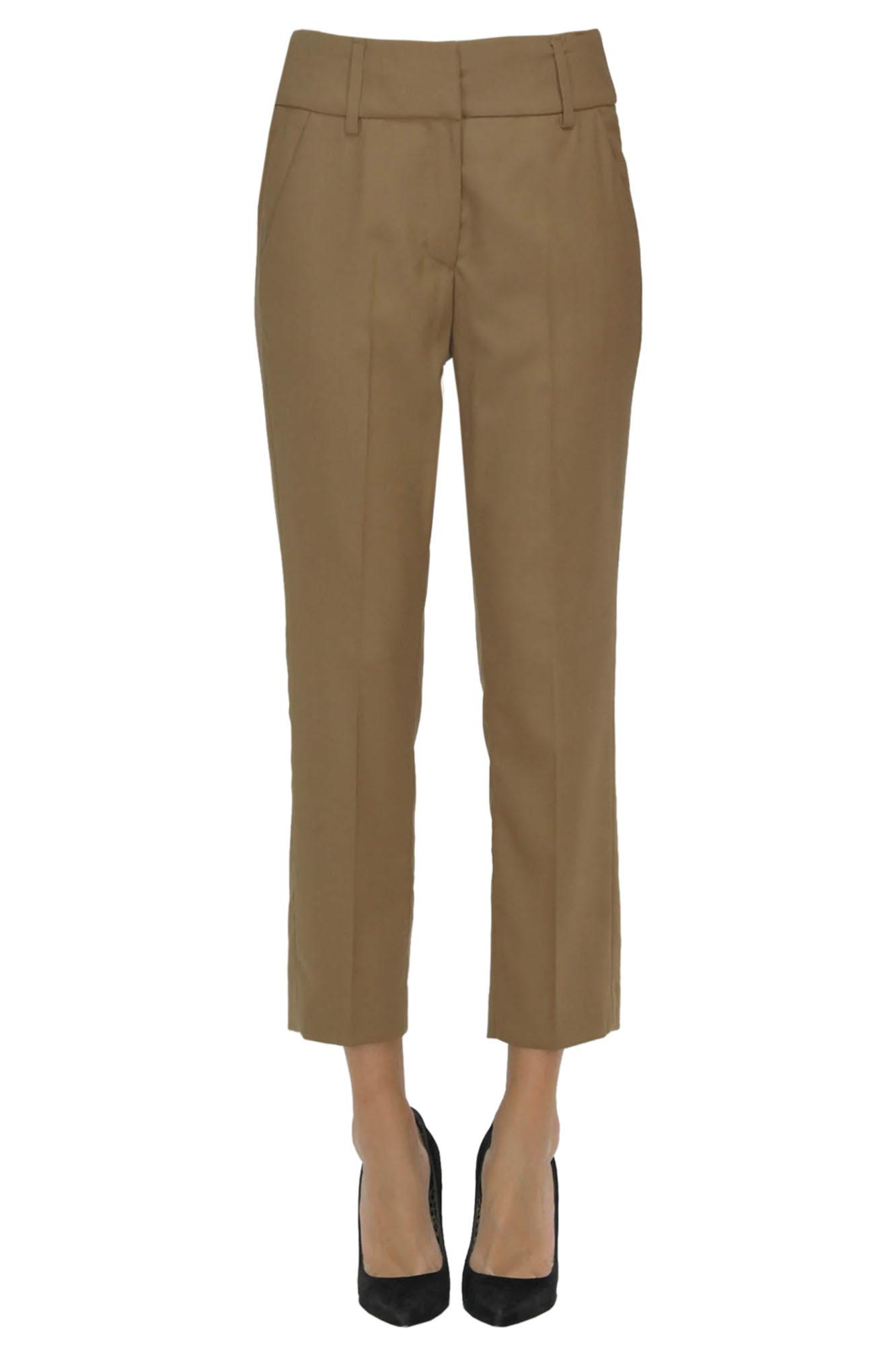 Image of Pantaloni Elegance in lana