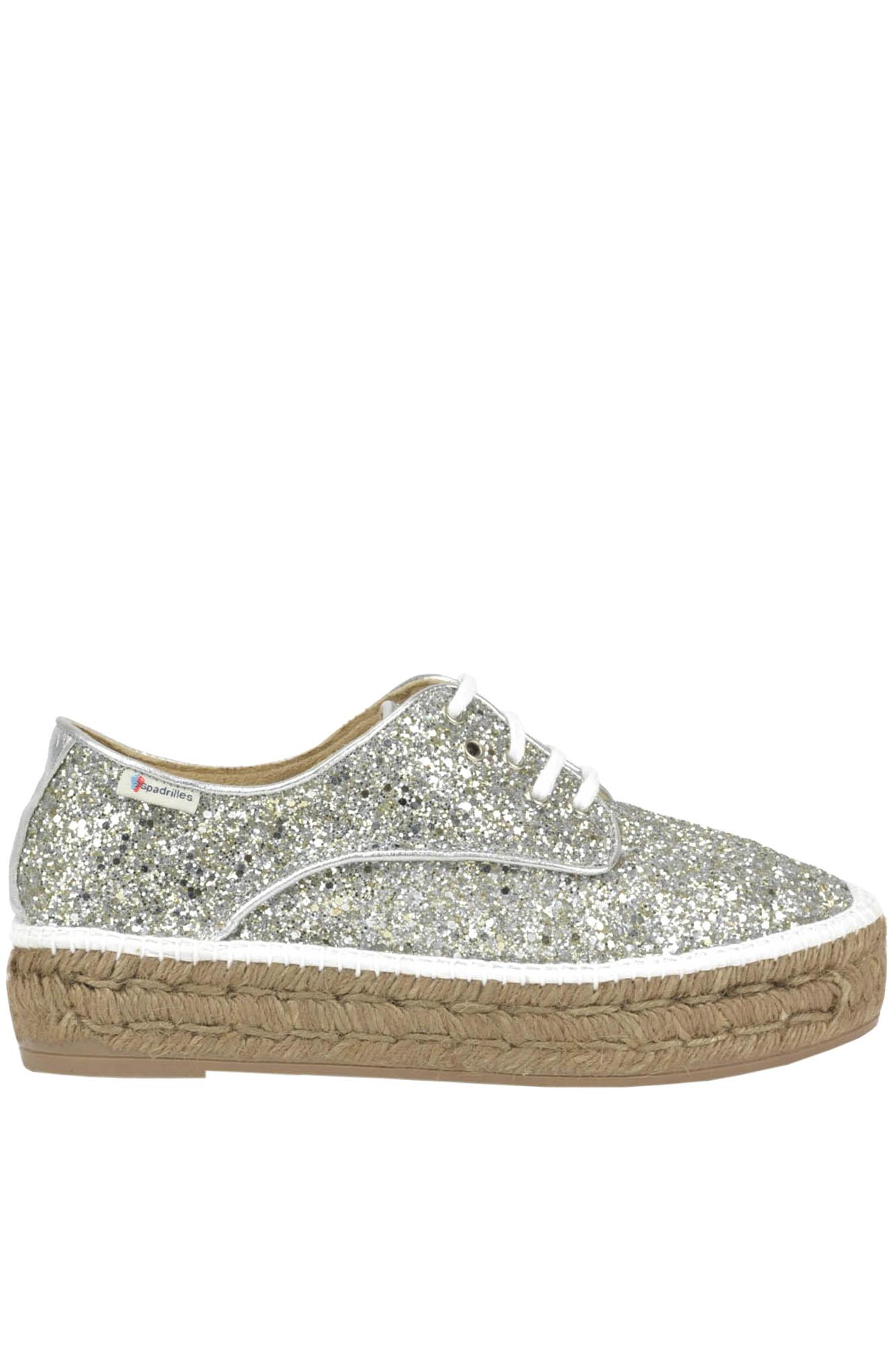Image of Scarpe stringate glitterate