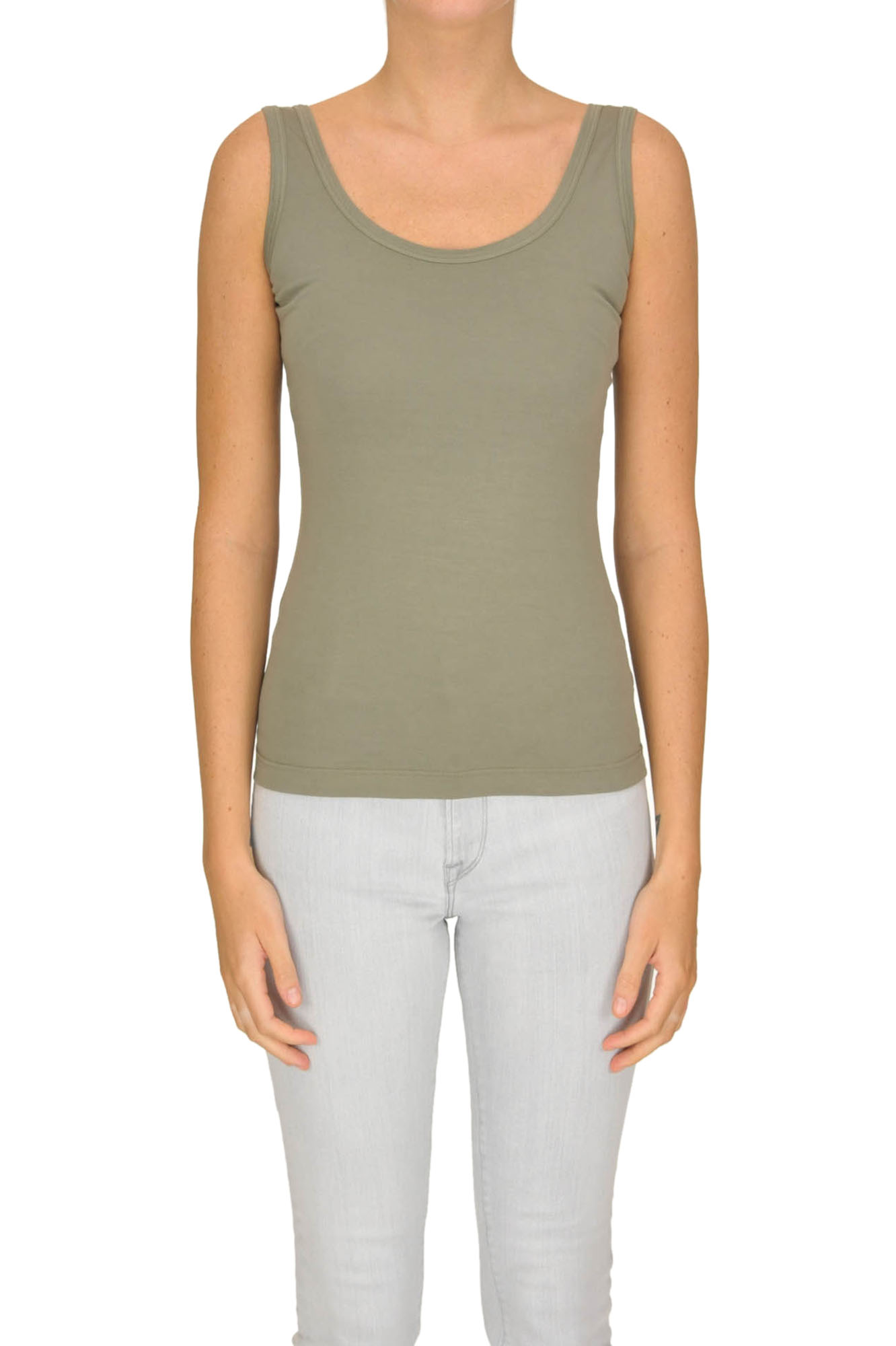 Image of Tank-top in cotone