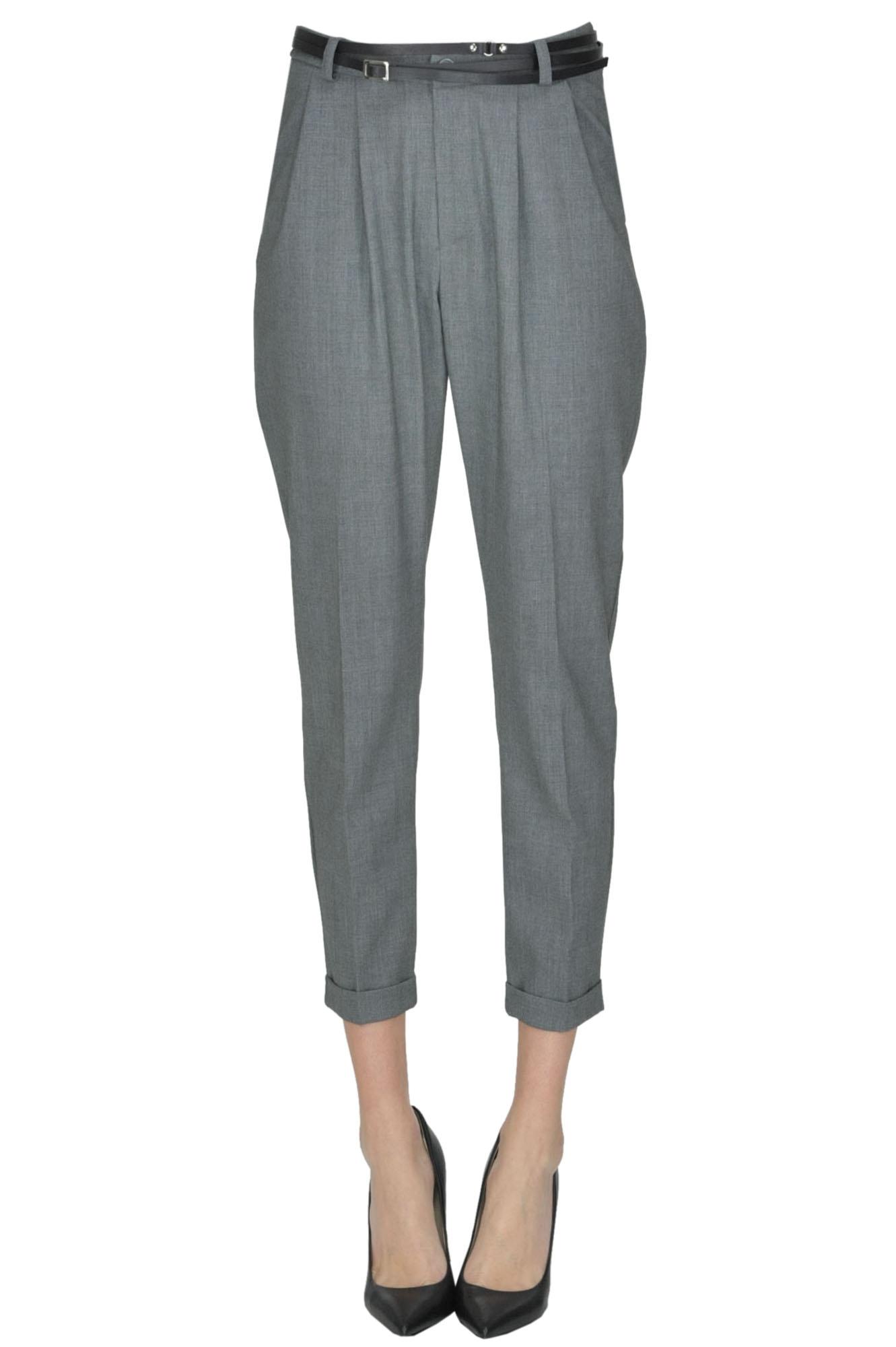 Image of Pantaloni con pinces