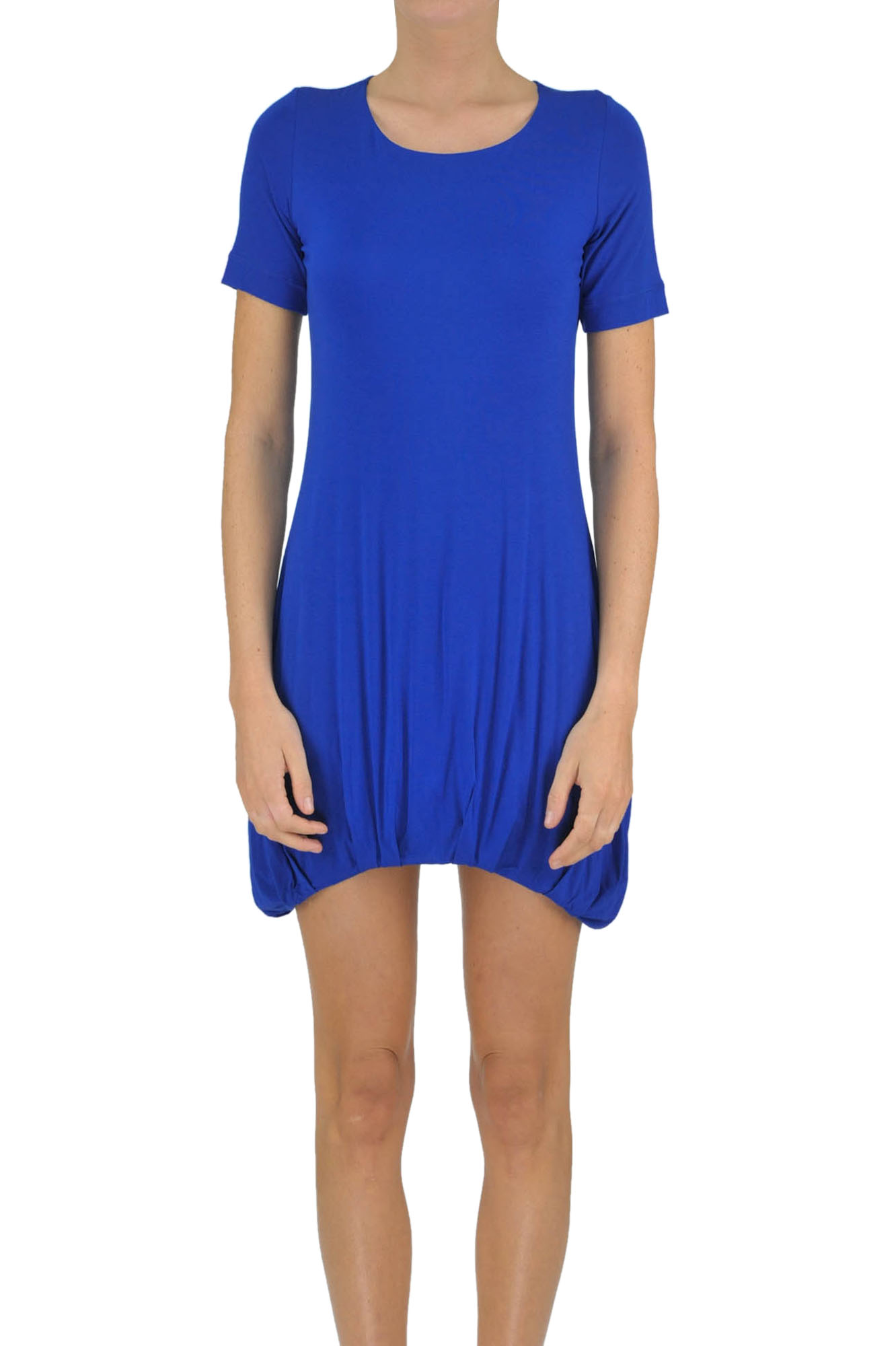 Image of Abito maxi t-shirt in jersey