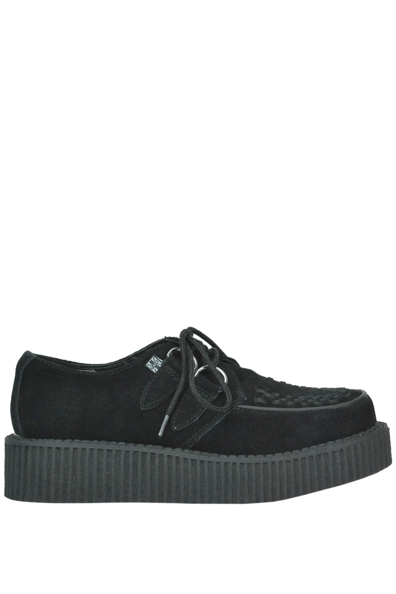 Image of Scarpe creepers in suede