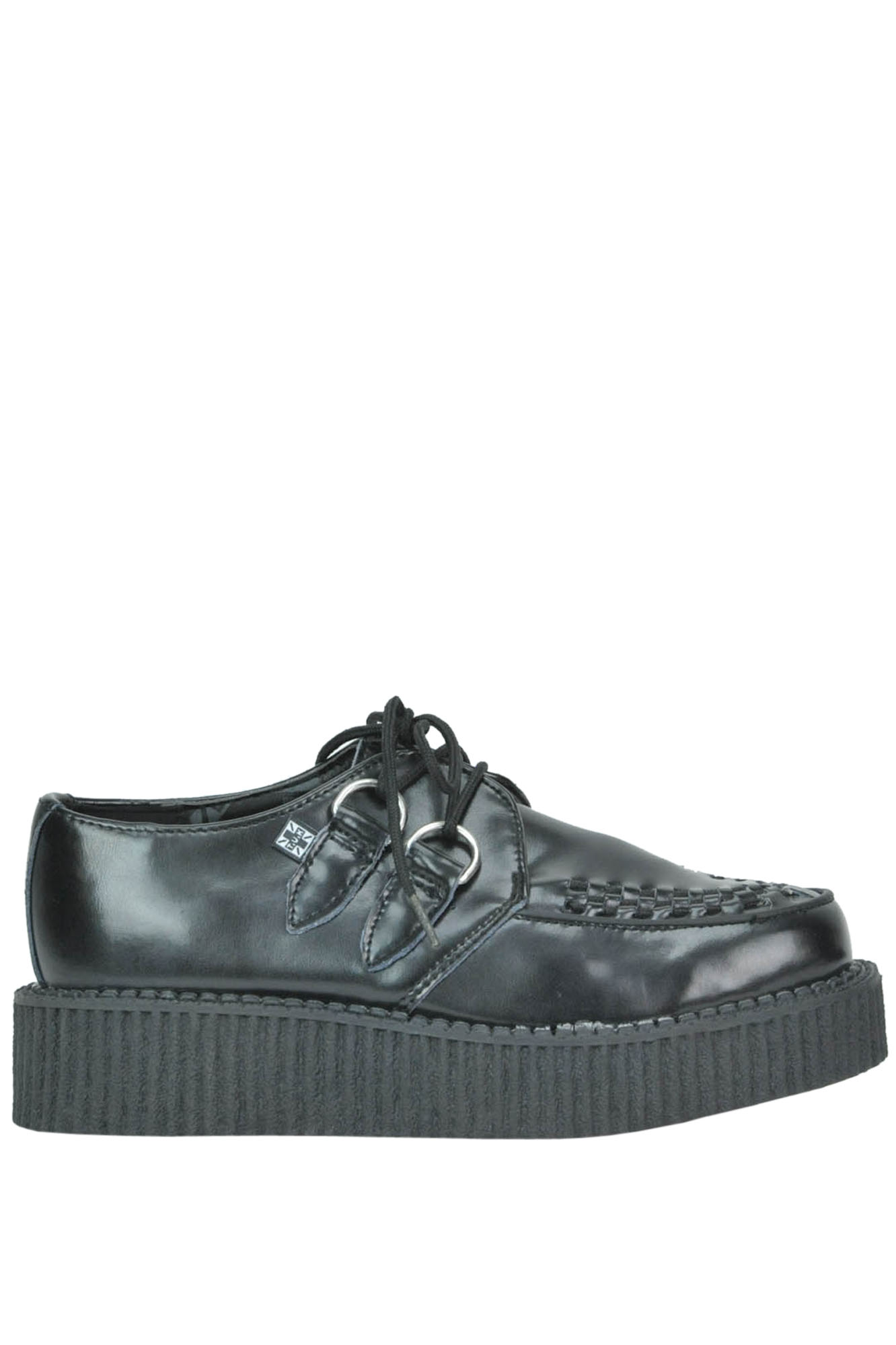 Image of Scarpe creepers in pelle