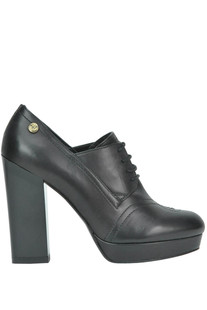 Heeled lace-ups shoes Love Moschino