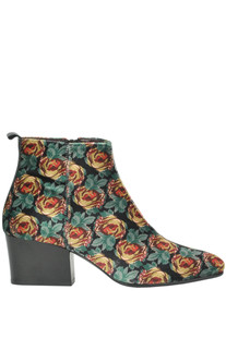 Alicia printed ankle-boots Lisa Corti