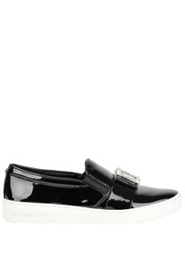 Patent-leather slip-on sneakers Michael Michael Kors