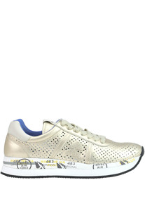 Conny metallic effect leather sneakers Premiata