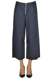 Deluxe cropped trousers Dondup