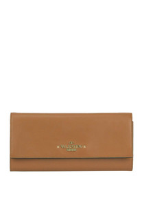 Leather maxi wallet Valentino