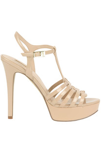 Eco patent-leather sandals Guess