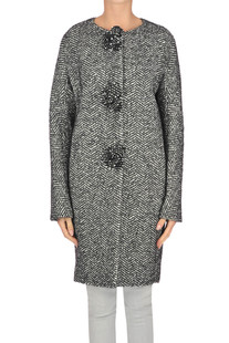Cappotto in tweed Ermanno Scervino