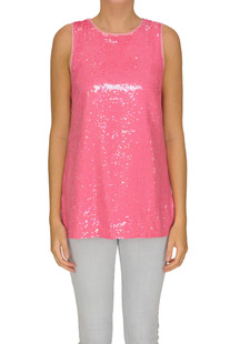 Sequined top Twin-set  Simona Barbieri