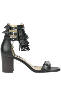 Studded leather sandals Patrizia Pepe