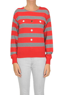 Striped pullover Space Style Concept