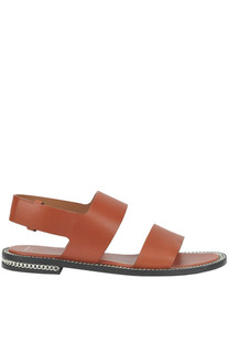 Leather flat sandals Givenchy