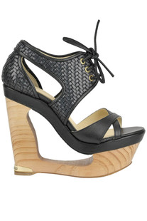 Wanda sculpture wedge sandals Paloma Barcelò