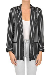 Grace striped blazer Pinko