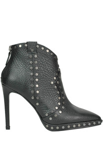 Studded leather ankle-boots Lola Cruz