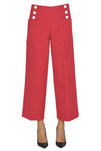 Cotton trousers Tara Jarmon