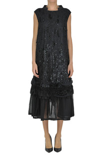 Embellished dress Dries Van Noten