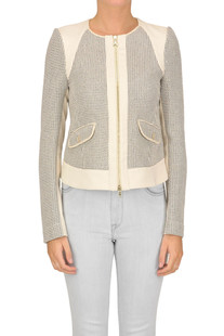 Textured cloth jacket Patrizia Pepe
