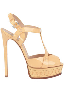Patent-leather sandals Casadei