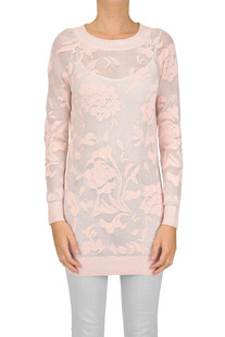 Embroidered knit pullover Ermanno Scervino