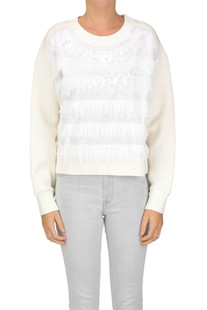 Fringed sweatshirt See by Chloé