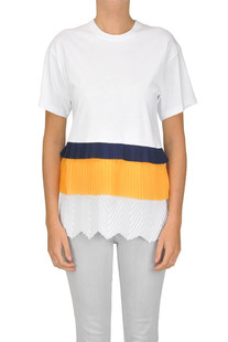 Flounced cotton t-shirt MSGM