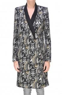 Cappotto in misto lana e cashmere stampato Kenzo