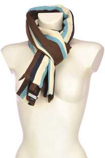 Frieda striped scarf Dries Van Noten