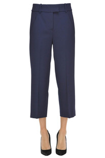 Ivy cropped wool trousers Dondup