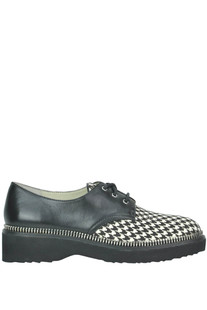 Printed haircalf and leather lace-ups shoes Michael Michael Kors