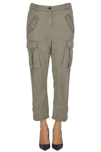 Cargo style trousers Pinko
