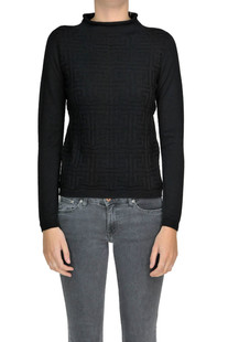 Textured knit pullover Alessandro