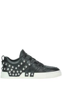 Studded leather sneakers Ash