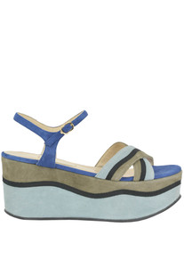 Suede wedge sandals L'Autre Chose