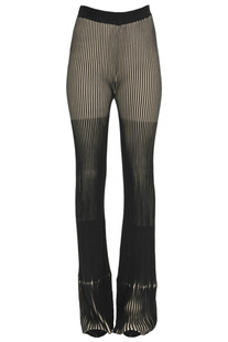 Striped cloth trousers Patrizia Pepe