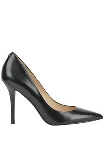 Leather pointed pumps Guess