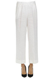 Linen trousers Officine del chino by Argonne