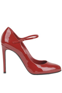 Patent leather Mary Jane pumps Casadei