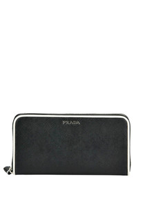 Saffiano leather wallet Prada