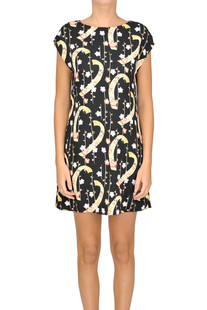 Printed mini dress Saint Laurent
