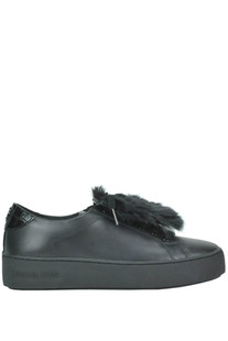 Poppy eco-fur insert sneakers Michael Michael Kors
