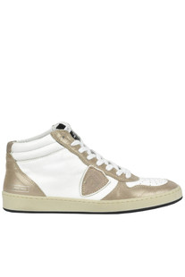 High-top leather sneakers Philippe Model