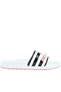 Printed rubber slides RED Valentino