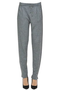 Cashmere-blend joggings trousers D.Exterior